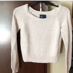 American Eagle medium cropped sweater